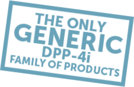 The only generic DPP-4i family of products