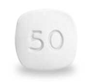 Vyvanse® 50 mg Chewable Tablet