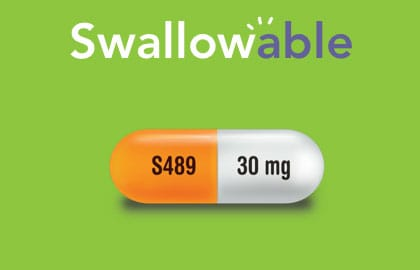 Vyvanse® is swallowable