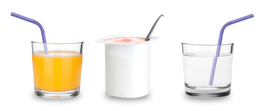 Vyvanse® Mixed with Orange Juice, Yogurt, or Water